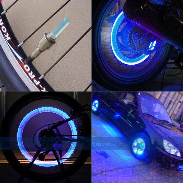 2 stks fietsen led fiets fiets wiel flesdop spoke neon led verlichting veiligheid lamp