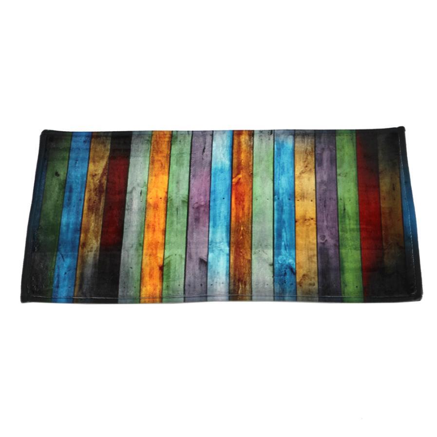 Mode Esszimmer Teppich Shaggy Weiche Bereich Teppich Schlafzimmer Rechteck  Boden Rutschfeste Matte 40*60 CM 11,6