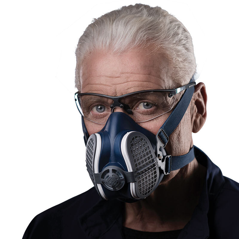 Dust Mask Dust-proof Half Face Activated carbon Mask Working Anti-pollution Anti-fog Anti-flu virus PM2.5 Respirator Gas masks outdoor cycling half face mask dust windproof anti pollen allergy activated carbon masks filter sports riding running lcc
