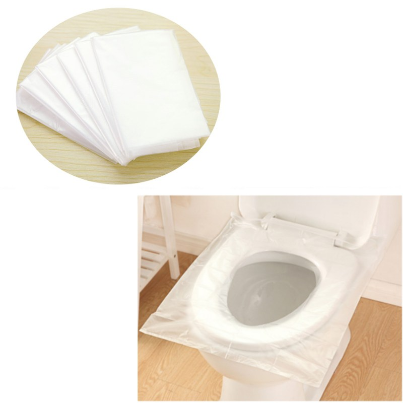 5Set 30Pcs Portable Waterproof Maternity Disposable Paper Toilet Seat Covers Travel Biodegradable Sanitary