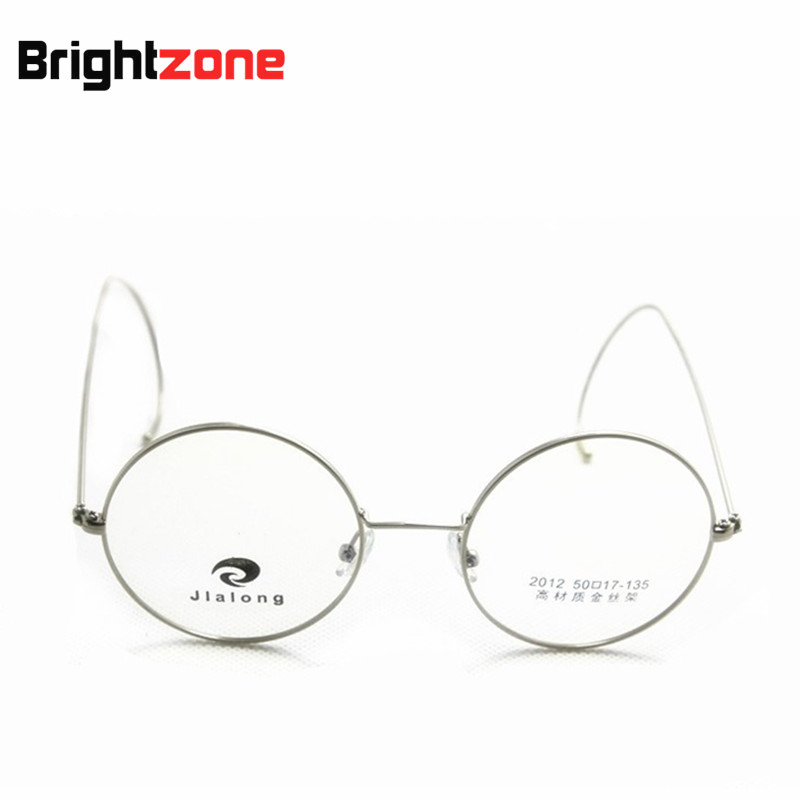 Antique & Vintage Round Gold Silver Gray Wire Rim Glasses Rx ...