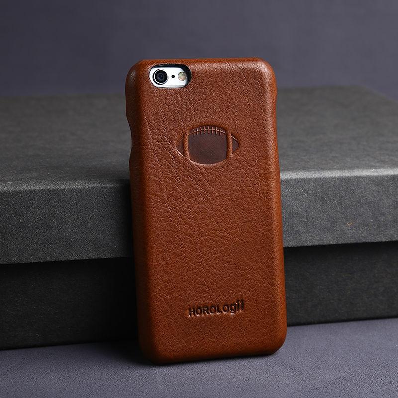Full grain Italian leather Vintage Hard Case For Apple