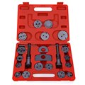 21pcs Universal Type Disc Brake Caliper Rotates Piston Rewind Back Tool Brake Pad Replacement Fit for Almost All Car Brands