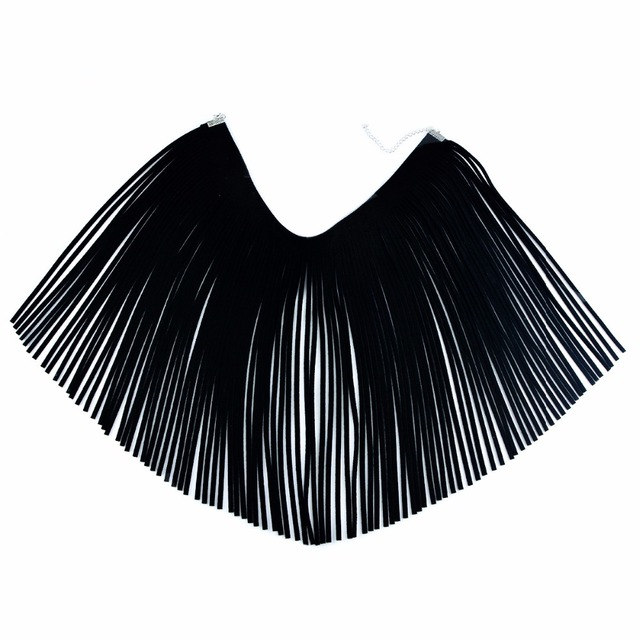 Fashion Tassel Shawl Statement Necklace