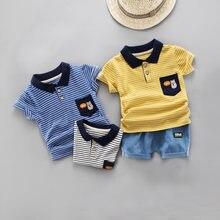 Diimuu 2 шт Одежда для маленьких мальчиков Детская летняя одежда