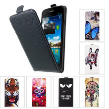 Custodia per Philips S309 SONCASE back Flip cassa del telefono 100% Speciale Bella cartoon Cool pu case Cover in pelle(China)
