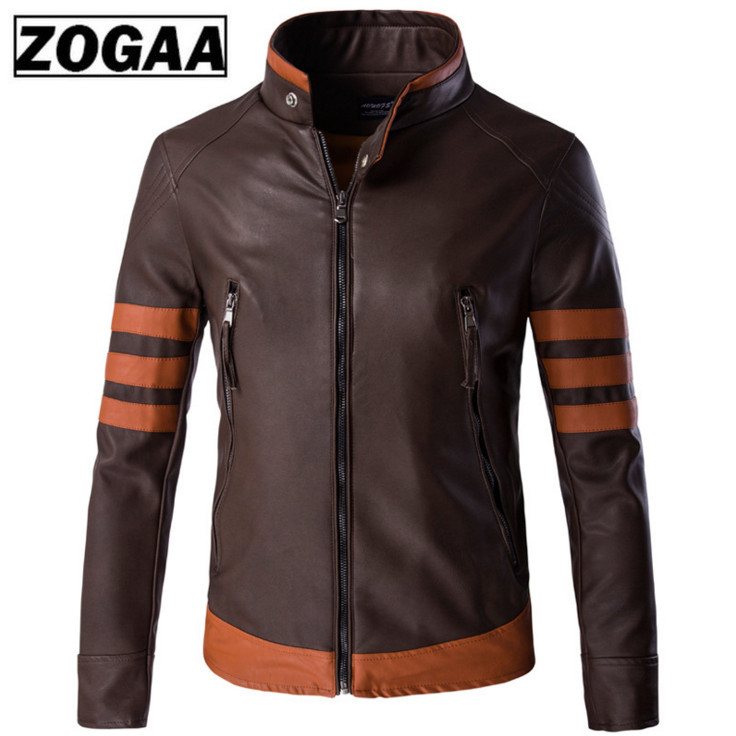 Big Size 5xl Men Leather Jackets New Arrival Stand Collar Motorcycle Leather Jackets And Coats Top Quality Comfortable Jacket