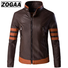 Big Size 5XL Men Leather Jackets New Arrival Stand Collar Motorcycle and Coats Top Quality Comfortable Jacket