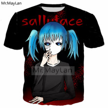 2019 New Design Game Sally Face 3D Print Tshirt Men/women Hiphop Streetwear T shirt 90s Boy Tops Kawaii Clothes camisetas hombre