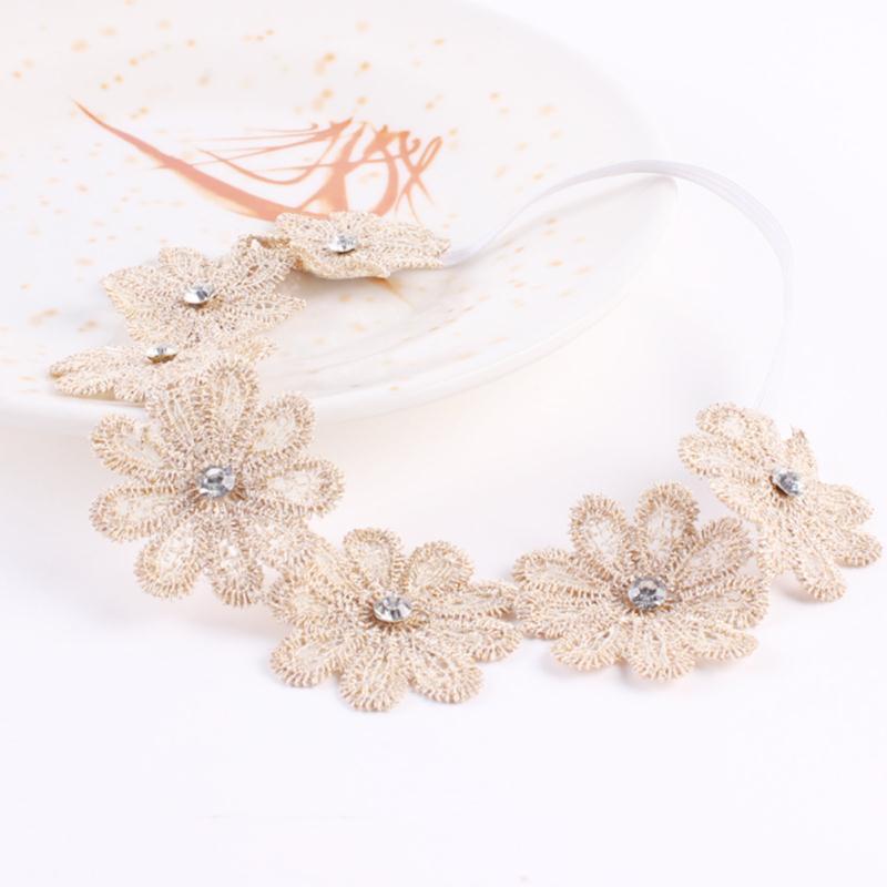 Fashion Sunflower Head Bands For Baby Girls Lovely Newborn Baby Toddler Kids Hairwear Accessories Jewelry