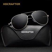 HDCRAFTER Aviador gafas de Sol Hombres Mujeres Anteojos De Sol Mujer Hombre Gafas de Aviador Clásico Con Accesorios 2018 Nuevo Estilo