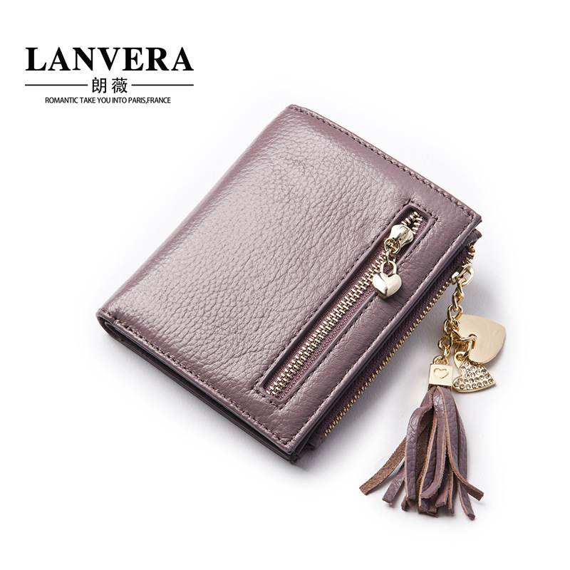 Small Women Genuine Real Leather Thin Wallet Cute Purse For Girl Ladies Bifold Zipper Coin Pocket Plastic Credit Card Holder women wallet leather coin purse ladies credit card holder zipper retro long bifold clutch carteira portefeuille femme gift 2017