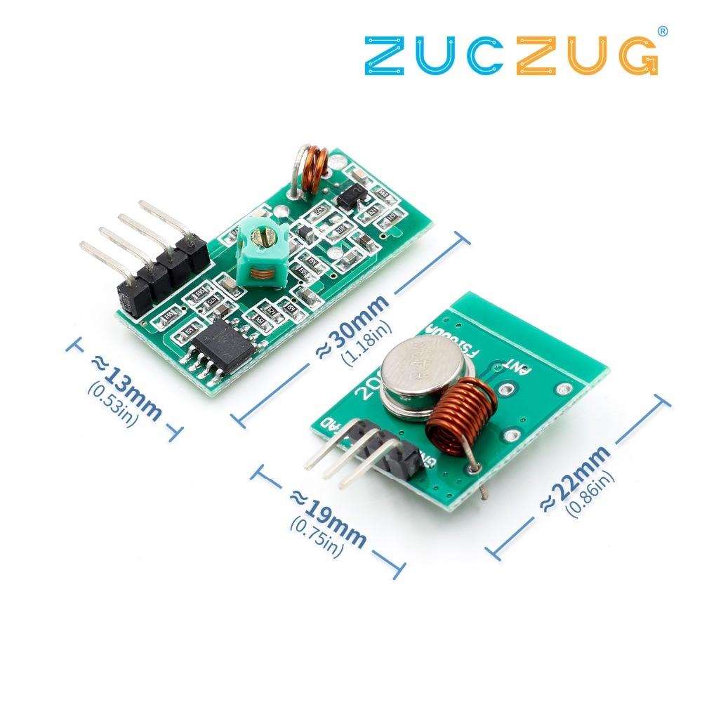 Transmitter Receiver Module SYN480R 315M 433M ASK OOK Wireless RF Module  Qo