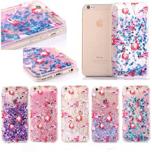 Dynamic Glitter Liquid Case For iPhone