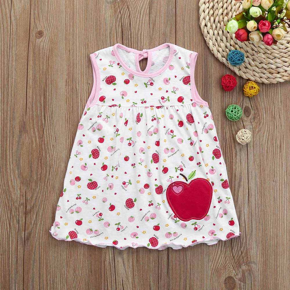 Милое Хлопковое платье в горошек с цветочным принтом для малышей Детская полосатая футболка с бабочкой, жилет модное милое платье для маленьких девочек