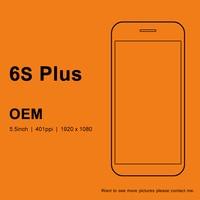 עבור OEM איכות עבור iphone 6 s בתוספת תצוגת מסך Lcd החלפת Touch עצרת Digitizer (מצלמה אוזן + טבעת mesh + חיישן טבעת)