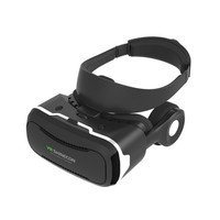 VR SHINECON 4.0 Virtual Reality goggles 3D Glasses VR BOX 2.0 google Cardboard with headset For 4.5 6.0 inch smartphone