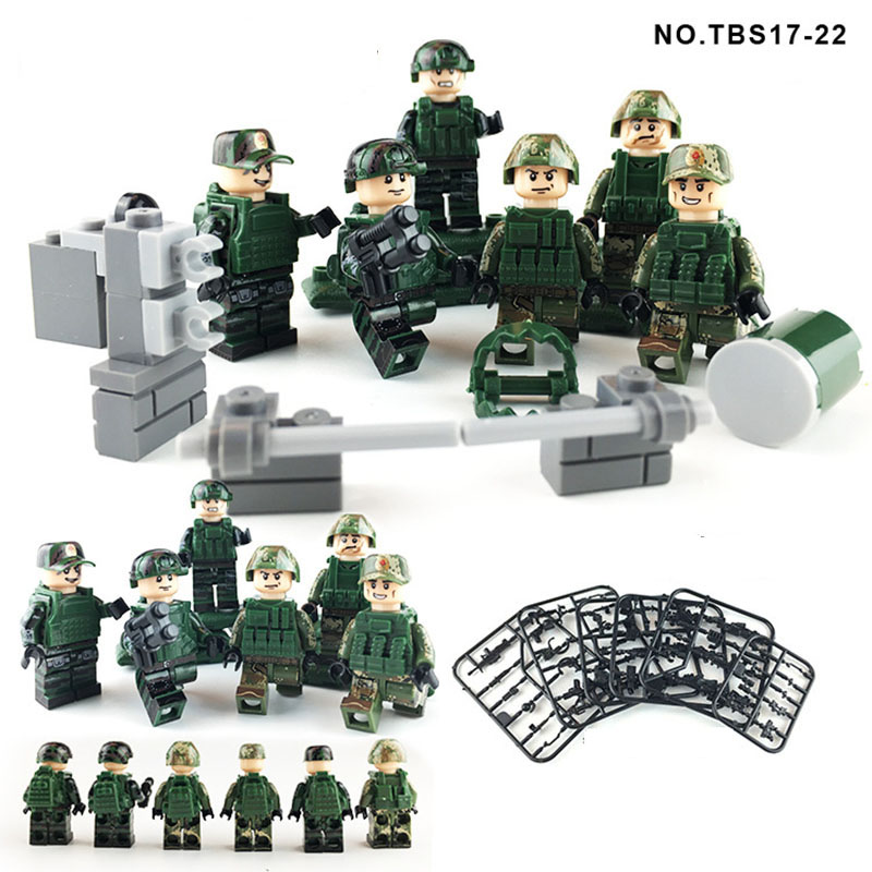 New LegoINGlys Military Series Army Special Forces Navy Seals Team Marines Swat Soldiers Building Blocks Sword Attack ToysNew LegoINGlys Military Series Army Special Forces Navy Seals Team Marines Swat Soldiers Building Blocks Sword Attack Toys