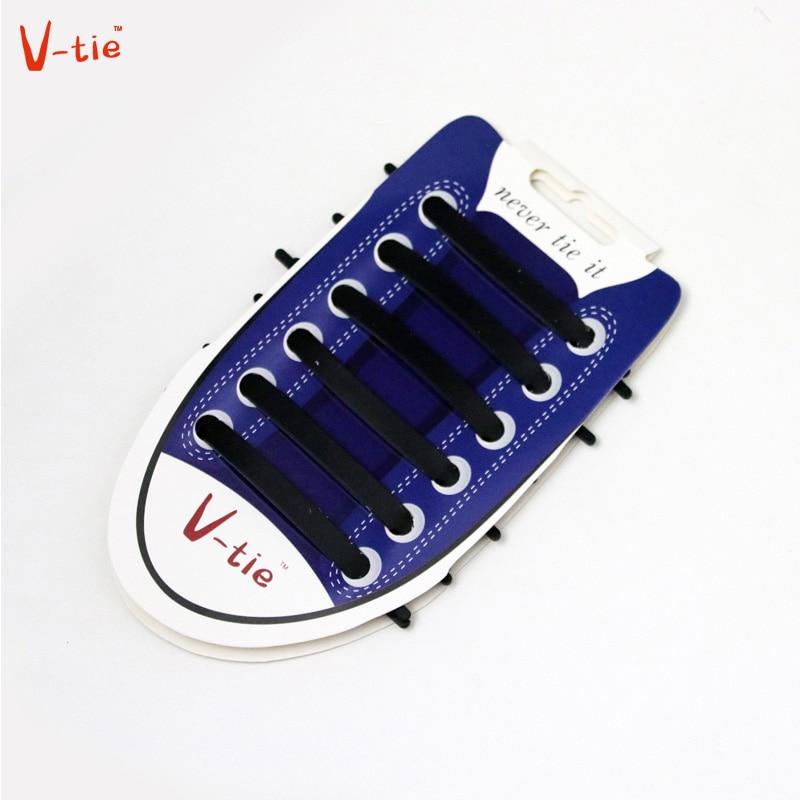 1 Set 12pcs New Black  Novelty No Tie Shoelaces Unisex Elastic Silicone Luminous Shoe Laces All Sneakers Fit Boys Sports Canvas