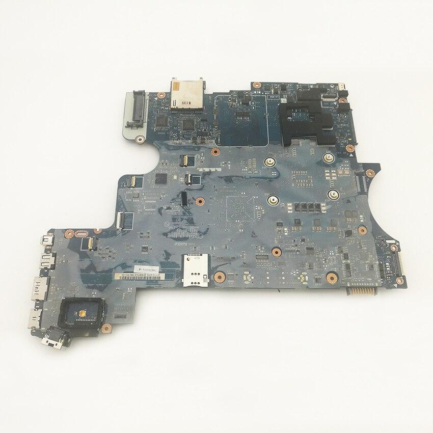 2 pcs/lot Carte Mère Carte Mère Pour Dell Latitude E6520 Carte Logique LA-6562P PAL60 U01 DDR3 2011 Année