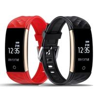 OGEDA Fashion Women Watch Smart Band Heart Rate Sport Intelligent Bracelet Pedometer Sleep Fitness Tracker Bluetooth Waterproof