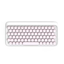 Lofree Dot Bluetooth USB Keyboard Mechanical Keyboard Wireless Backlit Round button for ipad/Iphone/Macbook/PC computer