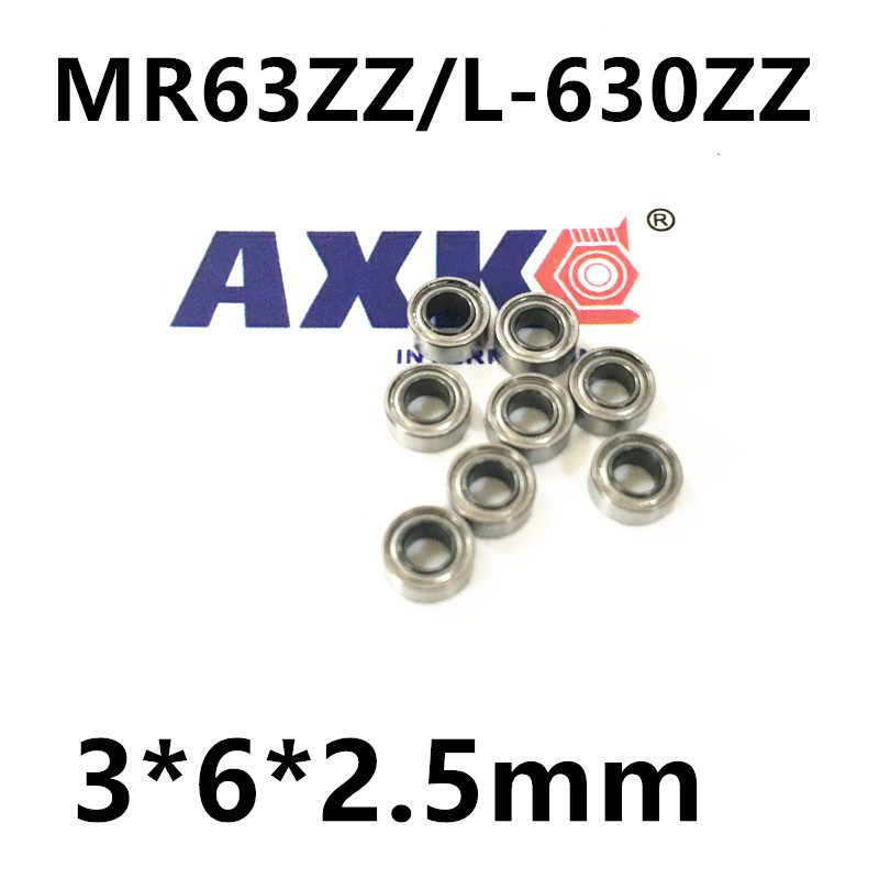 MR63ZZ deep groove ball bearing 3 * 6 * 2.5 ABEC-5  free shipping  mr632z