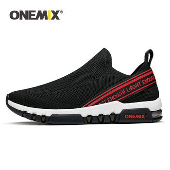 ONEMIX Summer New Men Sneakers Casual Shoes Vintage Breathable Slip-On Running Skateboarding Footwear MenTriainers Tennis Shoes