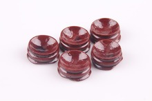 10pcs red patina wood tower stand pedestal holding CRYSTAL Sphere Wood Display Stand For 30-80MM Crystal Ball