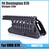 KINSTTA Military Tactical 20mm Double Picatinny Rail System Scope Mount Fit Remington 870 RM870 Air Rifle