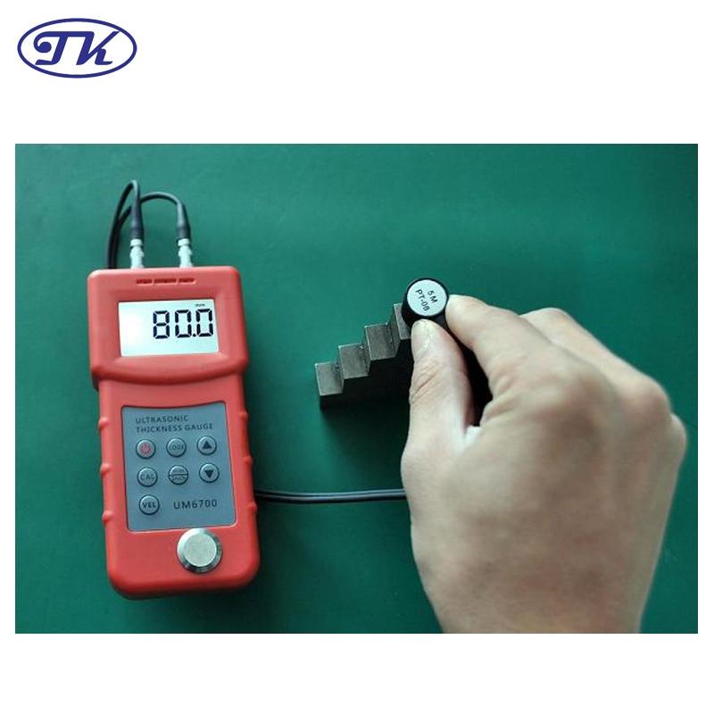 UM6700 skaitmeninis nešiojamas tikslus ultragarso storio matuoklis, metalo storio matuoklis 1-280 mm, 0,1 mm