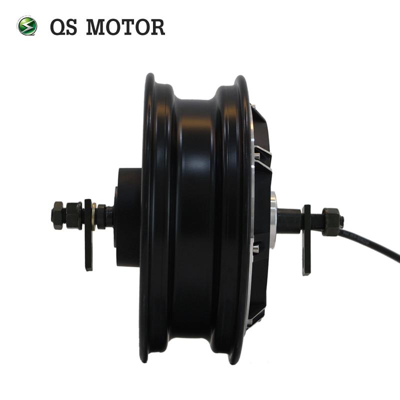 QS MOTOR 10inch 1000W 205 35H V2 Brushelss DC Electric Scooter Motorcycle Wheel Hub Motor