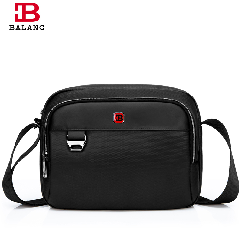 BALANG New Fashion High Quality Luxury Men Messenger Bags Waterproof Oxford Male Shoulder Bag Casual Black Travel Crossbody Bags men military chest bag high quality man laptop crossbody bags nylon male travel back pack waterproof big shoulder messenger bags