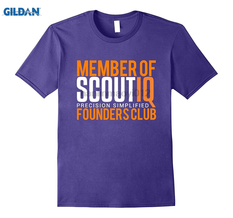 GILDAN SCOUTIQ Founders Club Launch T-Shirt Dress female T-shirt