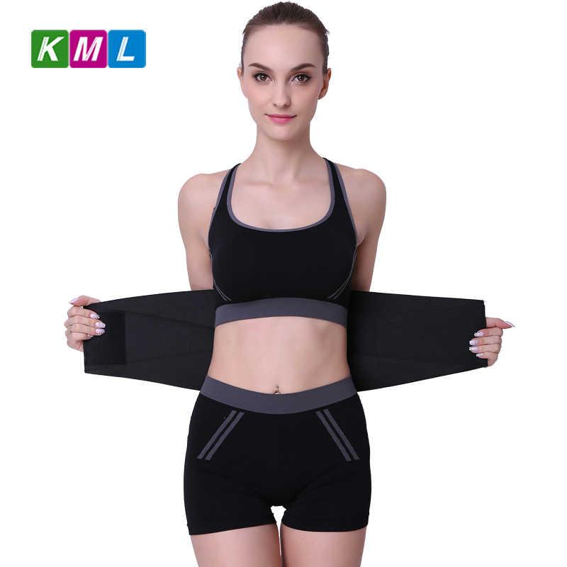 16248c60f80 ... Lumbar Back Support Belt Brace Strap Pain Relief Posture Corrector Waist  support back belt waist training ...