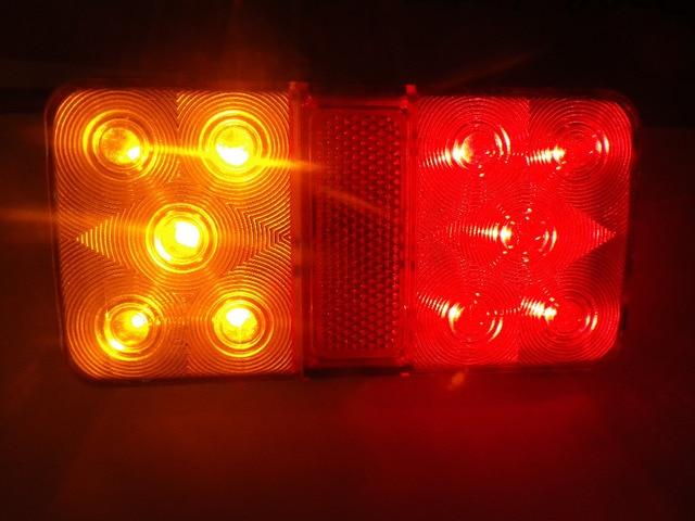 12 V 30 V Auto LED Rück Anhänger Rücklicht brems stopp Anzeige ...