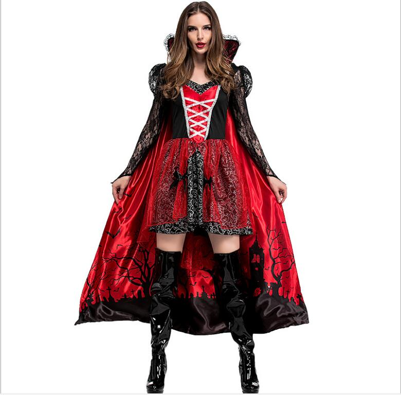 Adult Little Red riding hood <font><b>Costume</b></font> Women <font><b>Halloween</b></font>&Carnival Party Club <font><b>Sexy</b></font> <font><b>Vampire</b></font> witch <font><b>Costume</b></font> image