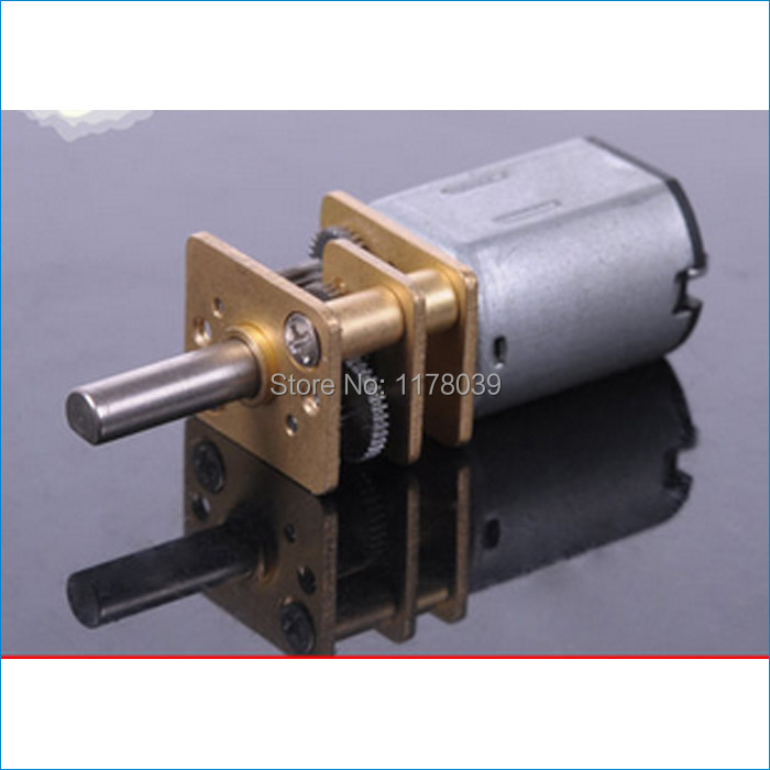 Dc3 6v geared electric motor small electric motors for for Small geared electric motors