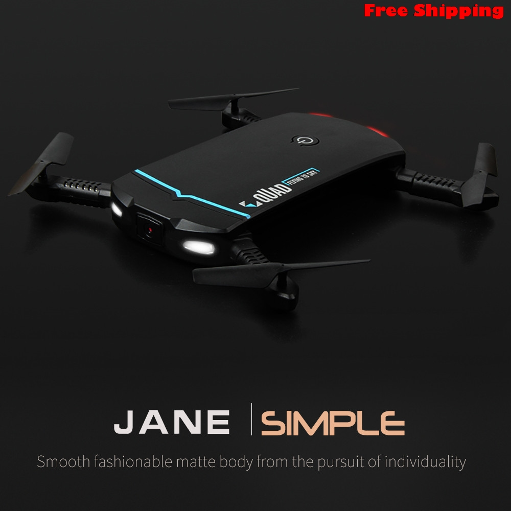 Portable Mini 2.4G 6Axis HD WIFI FPV RC Quadcopter Drone Selfie Foldable 0.3MP HD Image 2.4G 4CH transmitter Drop Shipping