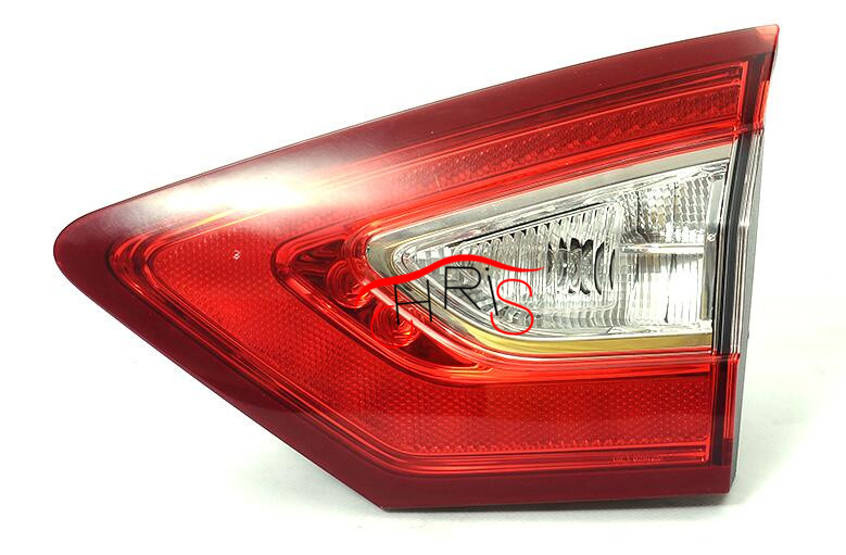 Clear Red L+R LED Rear Lights For Mondeo Fusion 2013-2016 Tail Light l r led clear red tail lights for mondeo fusion 2013 2016 rear lamps