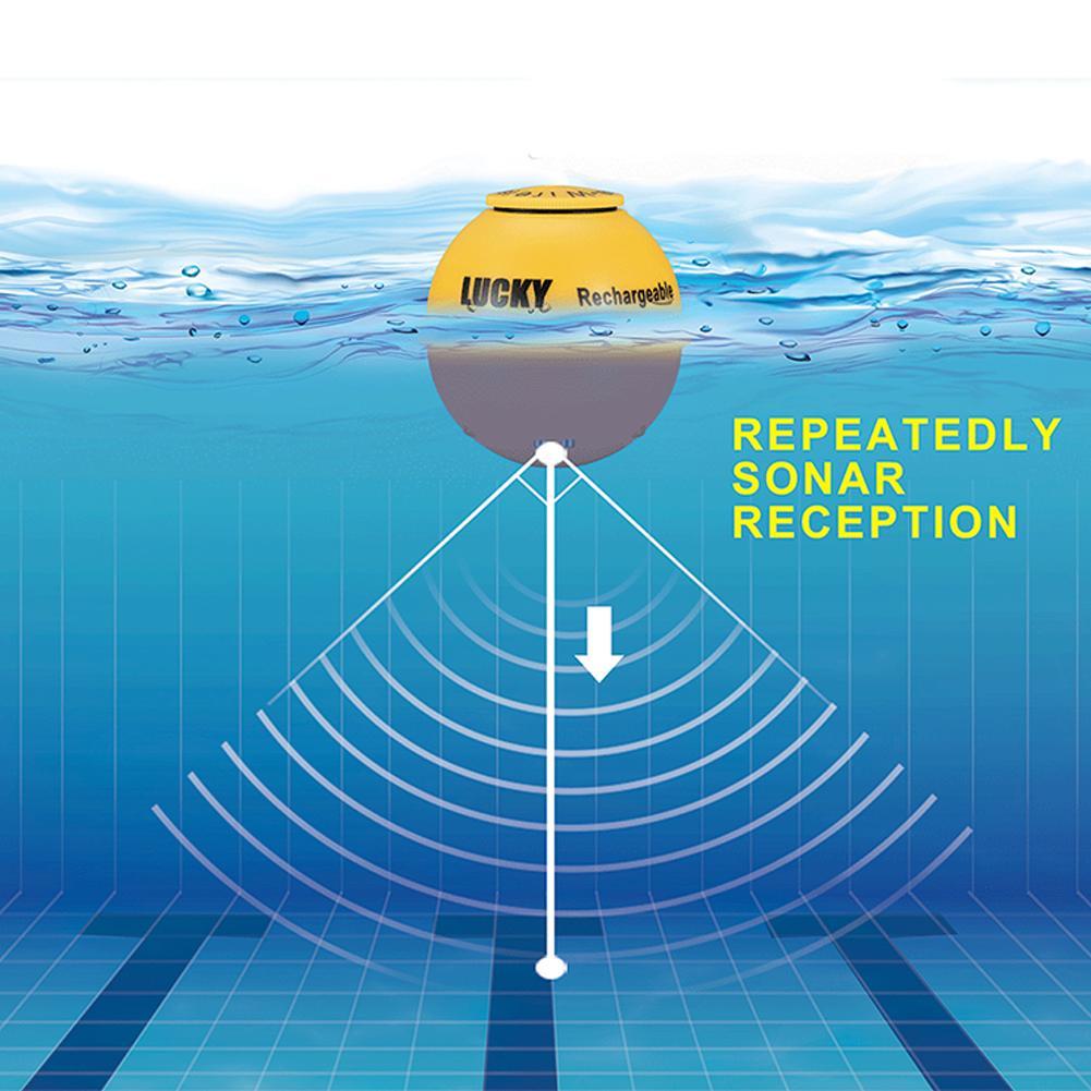45m Depth HD LCD Wireless Sonar Sensor Transducer Fish Finder Fishing Detector 45m Depth HD LCD Wireless Sonar Sensor Transducer Fish Finder Fishing Detector
