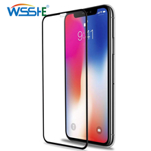 5D protective glass for iPhone 6 7 8 plus X iphone R XS MAX screen protector XR protection