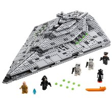 05131 Star Wars series the Super Destroyer model Compatible with Legoing 75190 Building Block Bricks Developmen Toys Children