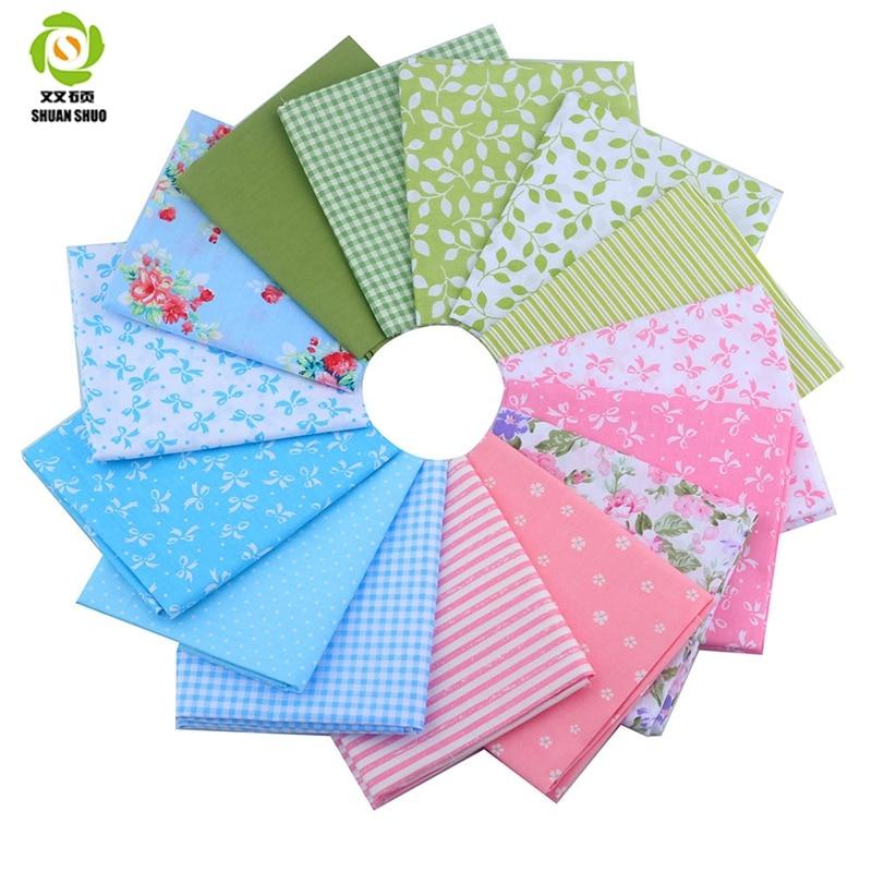 Fat Quarter Fabric Csomagok 15 különböző Design Patchwork Fabric - Művészet, kézművesség és varrás
