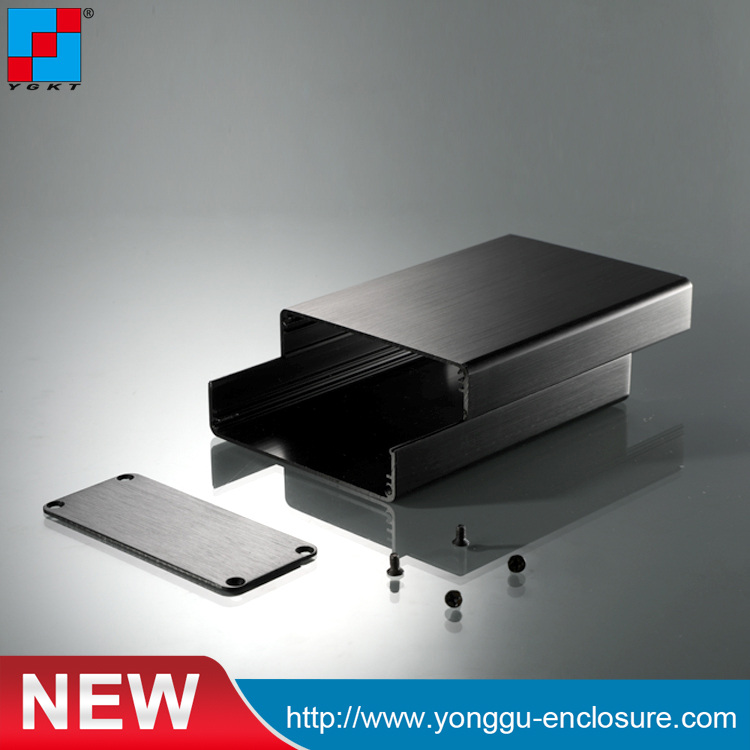 YGS-005 88*38-120mm WxH-L anodized aluminum small aluminium extruded project electronic enclosure pcb box aluminium housing metal electronics box diy aluminum enclosure ygs 036 96 45 5 140mm wxh d