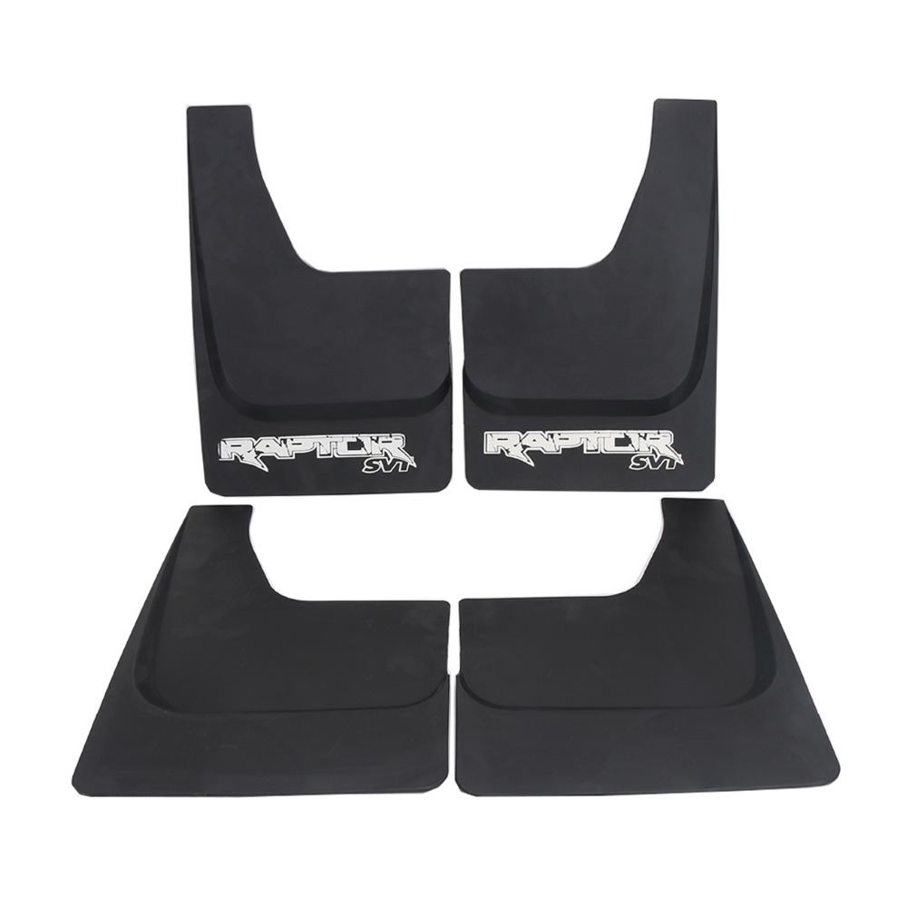 4x Car Mud Flaps Splash Guards Mud Guards Fenders with Screws for Ford F150 F-150 2004-2014 Mudguards #RA009 car mudguards for 2014 2015 2016 nissan qashqai mud flap flaps splash guards fender with logo auto styling accessories 4 pcs set