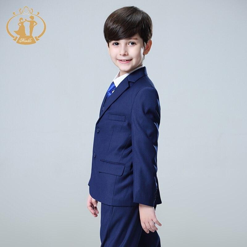 Oğlanlar Forml kostyumu Enfant Garcon Mariage Oğlanlar Toylar - Uşaq geyimləri - Fotoqrafiya 5