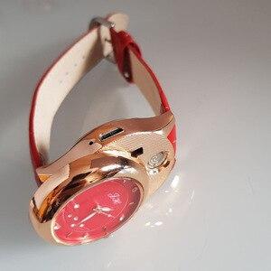 Image 4 - Delle donne Della Vigilanza orologi al quarzo sigaretta accendino USB di Ricarica Antivento creativo ambientale donne orologio JH 366