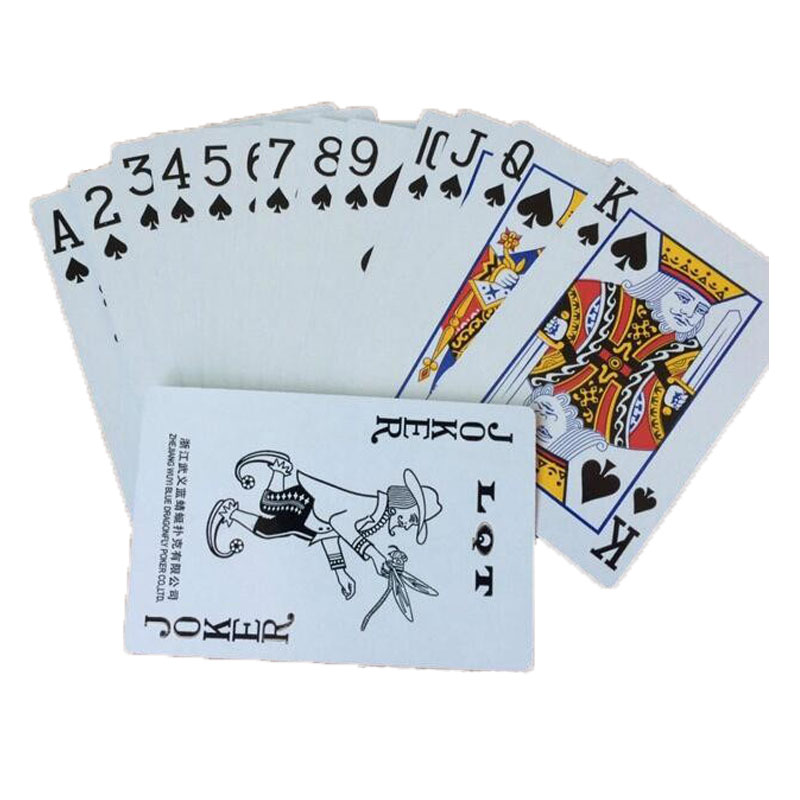 Free Lovely Poker Interesting Playing Cards Game Outside Outdoor Creative Travel Entertainment Poker P-101