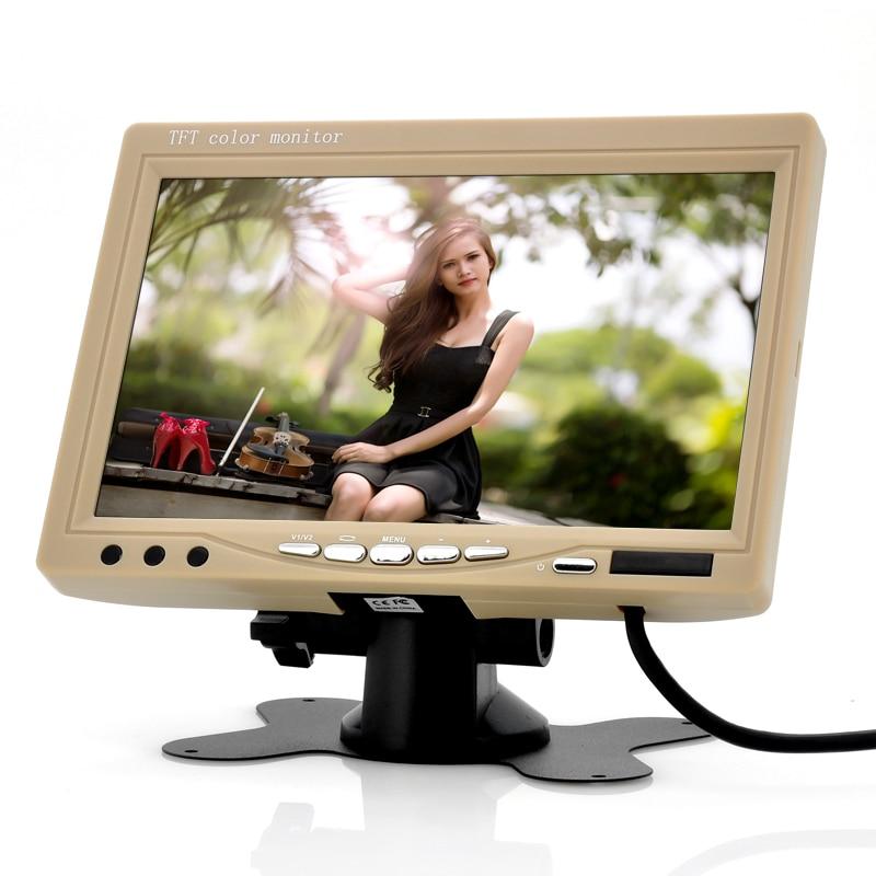 HD צג רכב, 7 אינץ '800 * 480 RGB TFT-LCD רכב משענת - אלקטרוניקה לרכב